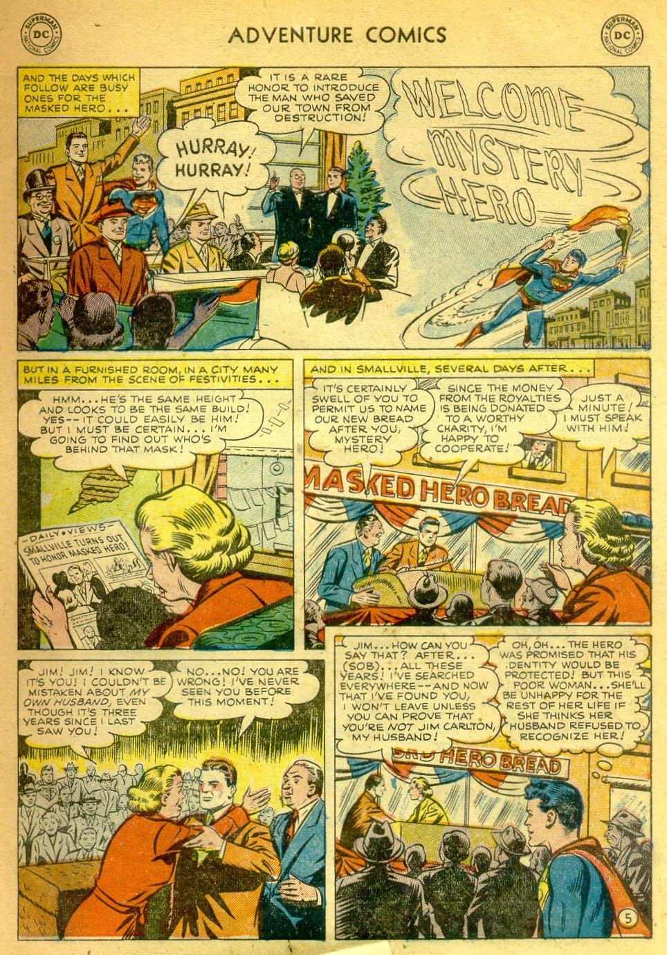 Read online Adventure Comics (1938) comic -  Issue #181 - 6