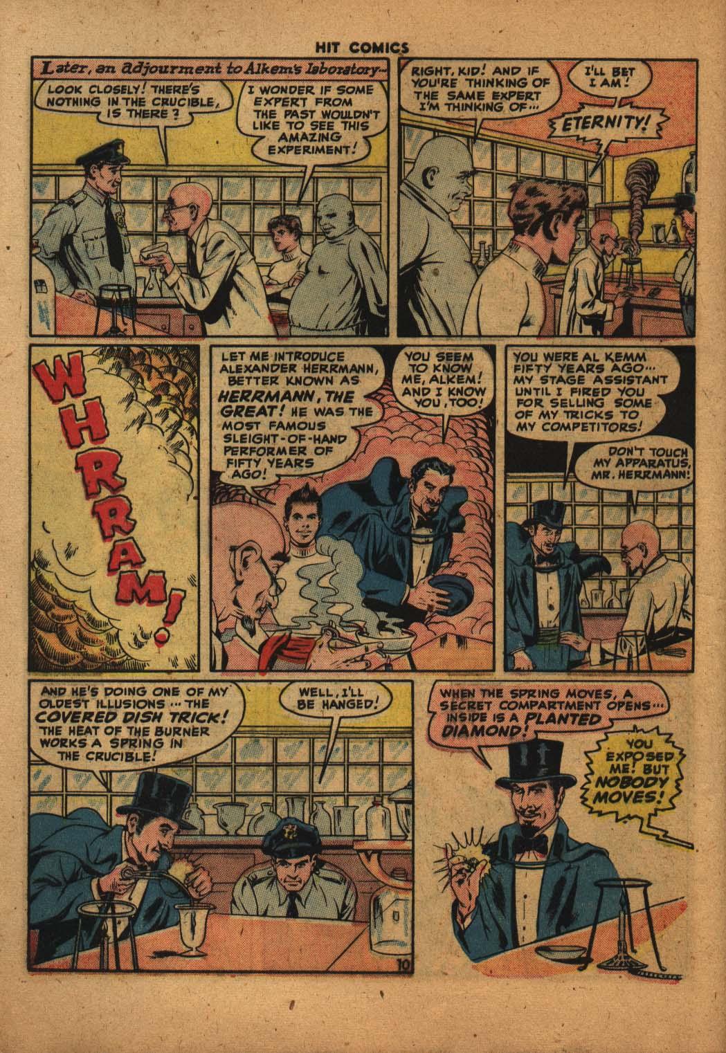Read online Hit Comics comic -  Issue #47 - 11