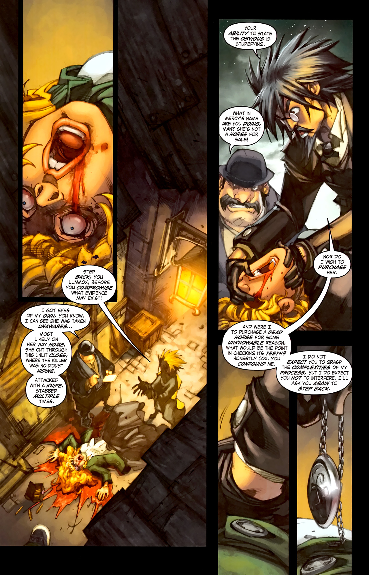 Read online World of Warcraft: Curse of the Worgen comic -  Issue #1 - 6