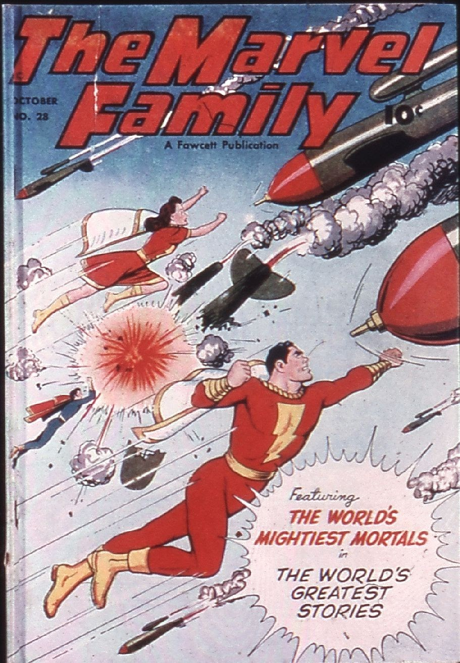 The Marvel Family issue 28 - Page 1
