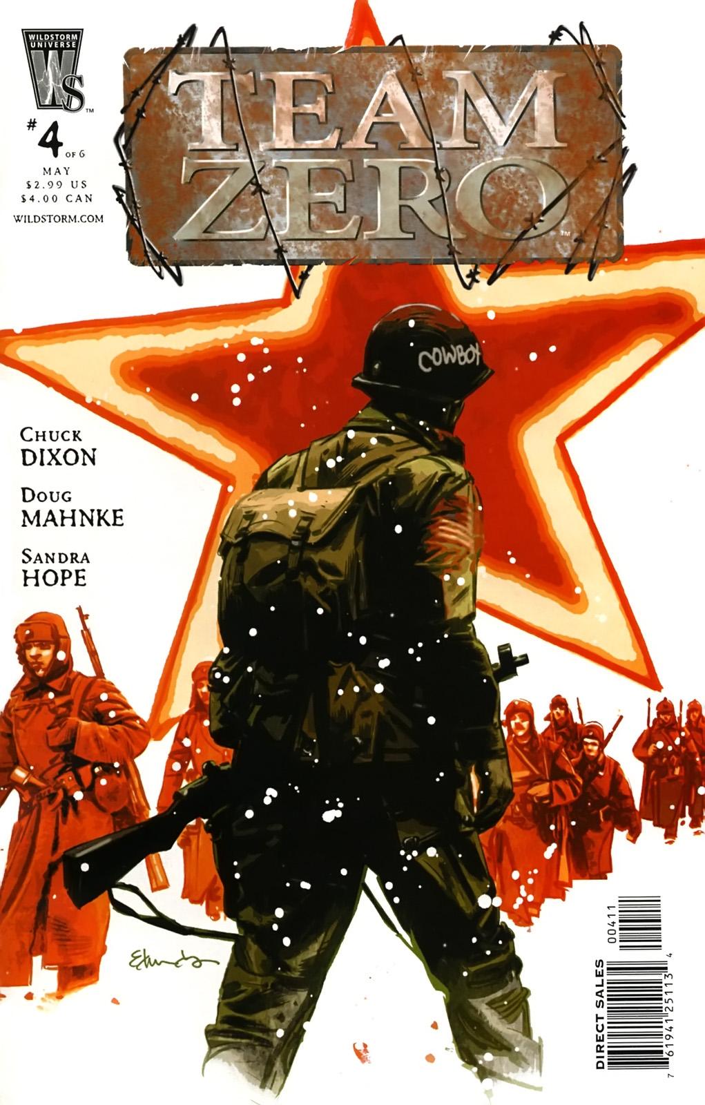 Read online Team Zero comic -  Issue #4 - 1