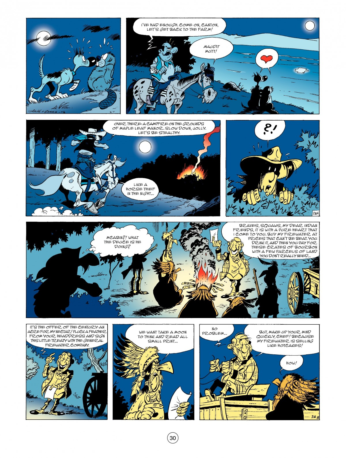 Read online A Lucky Luke Adventure comic -  Issue #52 - 32