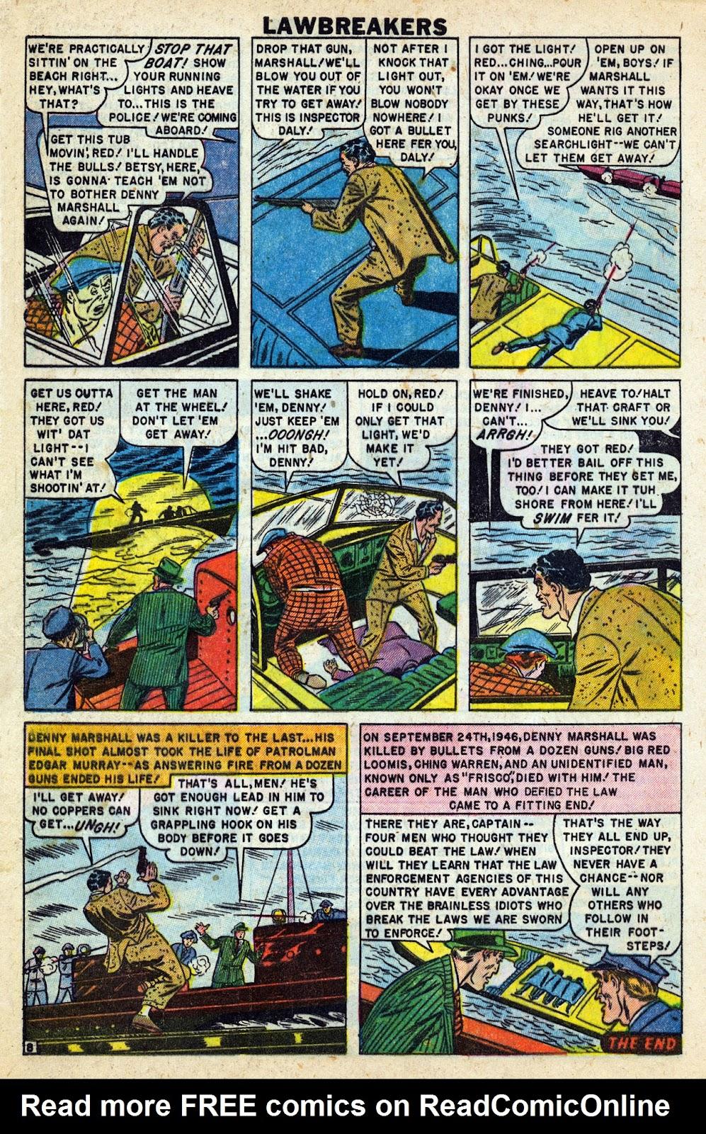 Lawbreakers Always Lose! issue 9 - Page 10