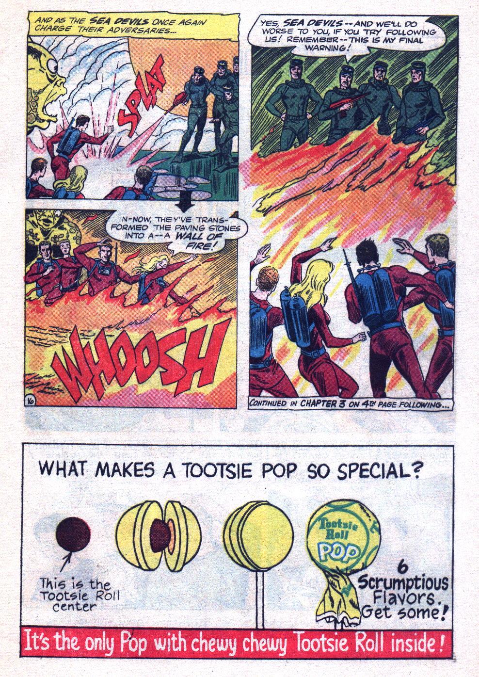 Read online Sea Devils comic -  Issue #20 - 21