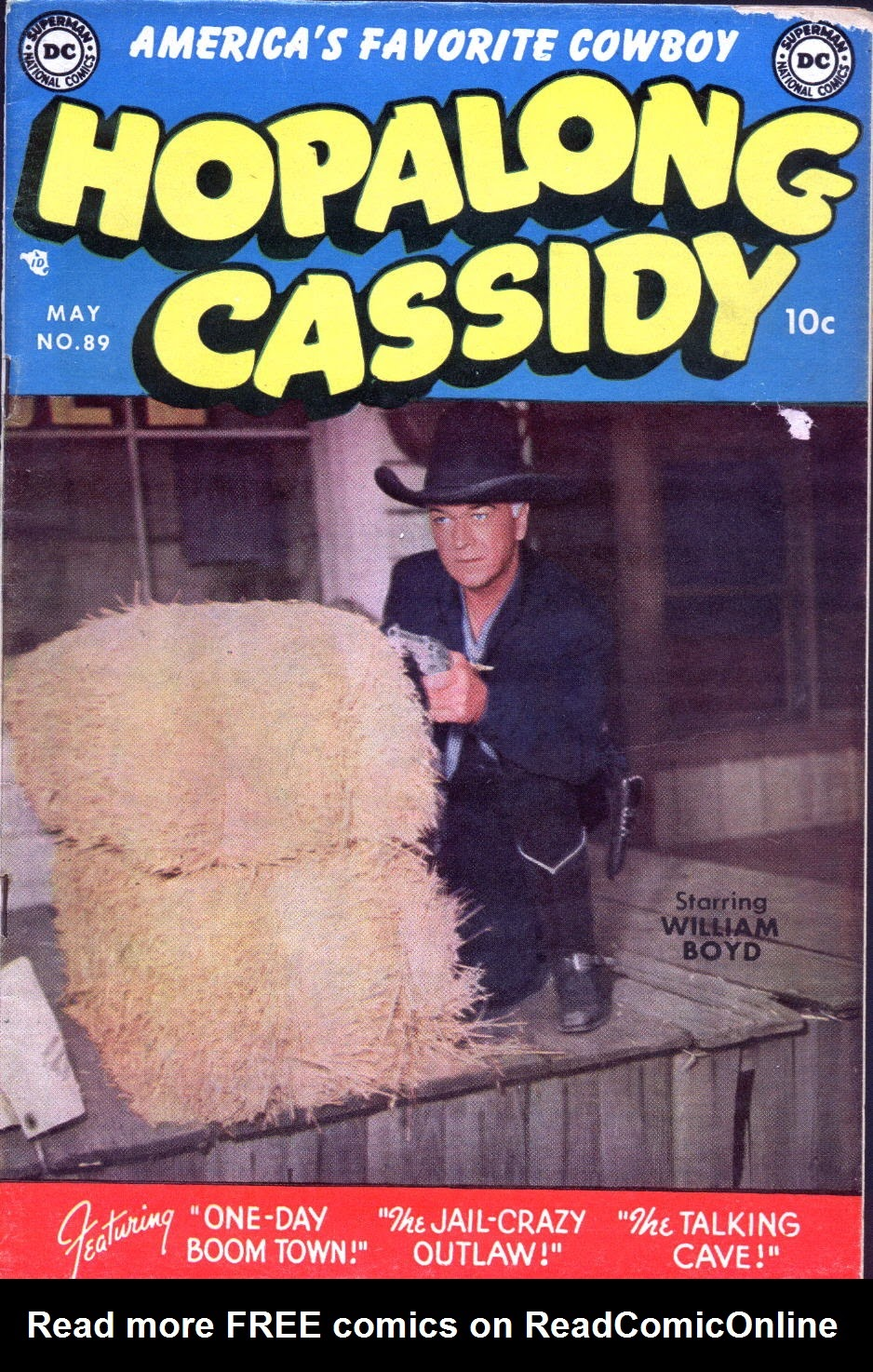 Hopalong Cassidy issue 89 - Page 1