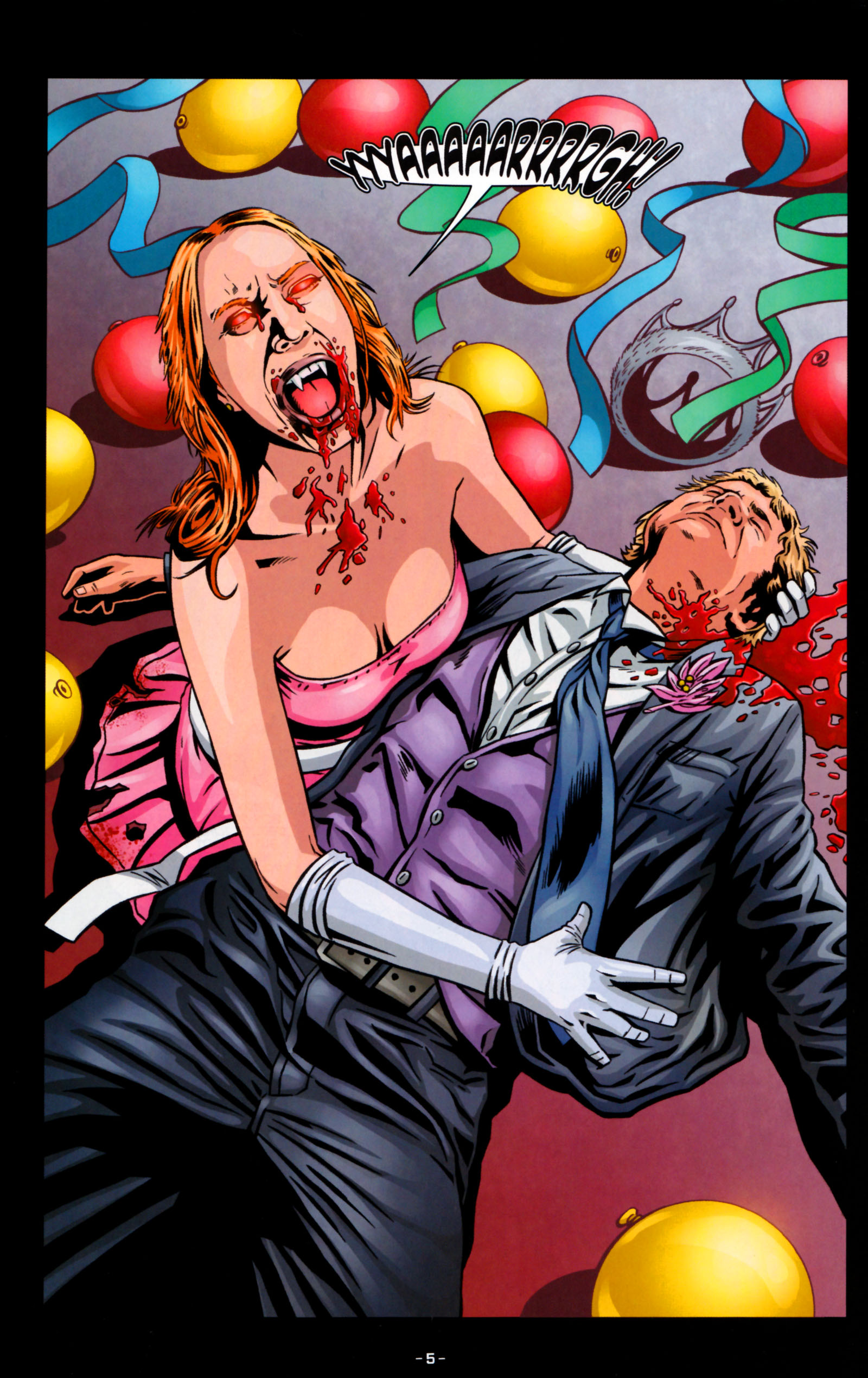 Read online True Blood: Tainted Love comic -  Issue #5 - 8