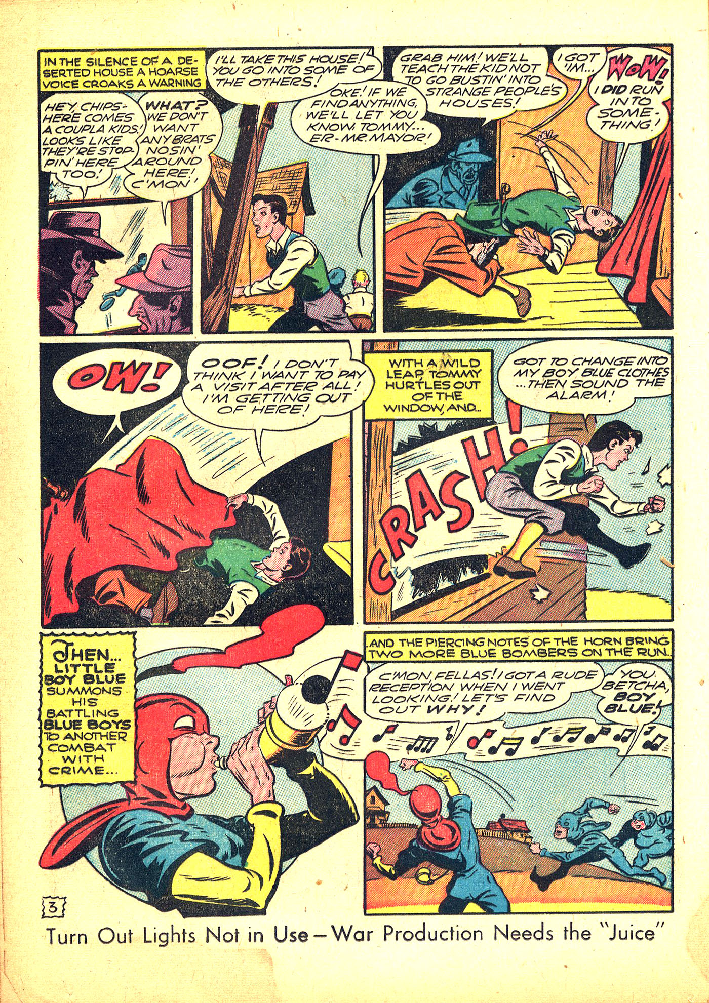 Read online Sensation (Mystery) Comics comic -  Issue #31 - 28
