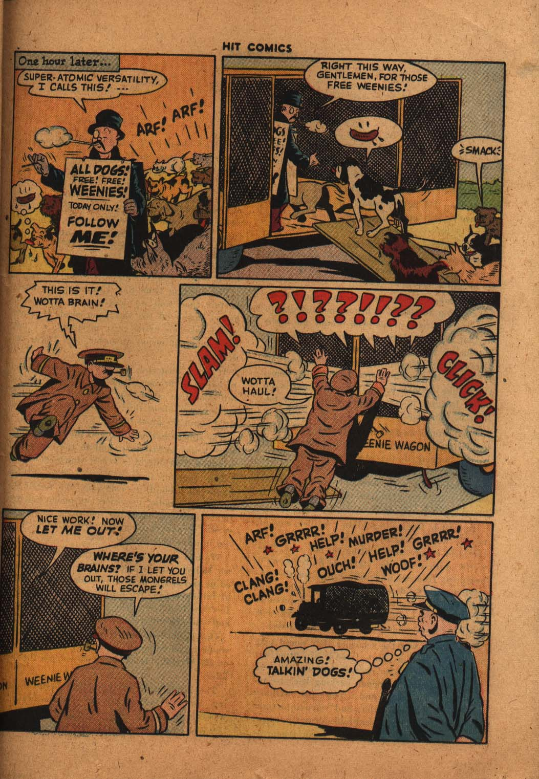 Read online Hit Comics comic -  Issue #47 - 36