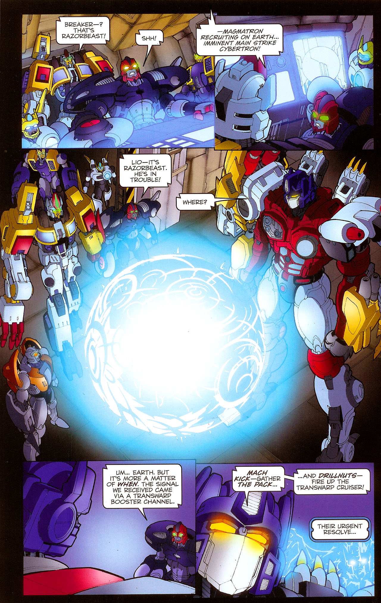 Read online Transformers: Beast Wars: The Ascending comic -  Issue #1 - 22