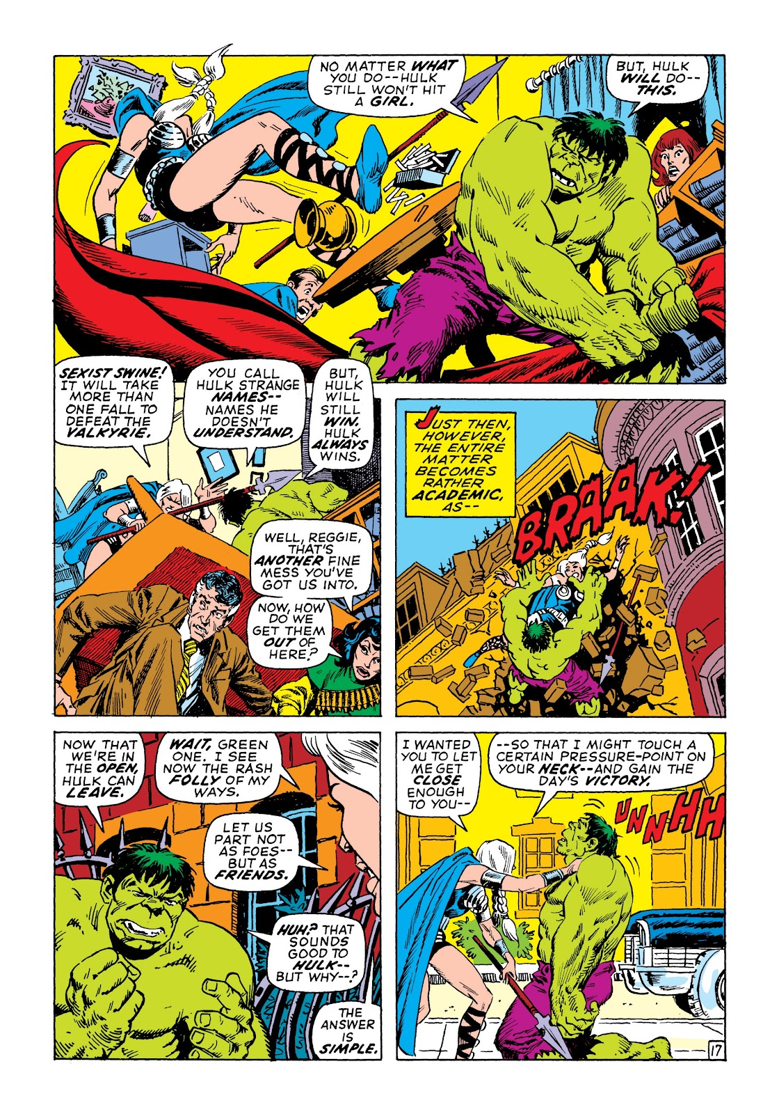 Read online Marvel Masterworks: The Incredible Hulk comic -  Issue # TPB 7 (Part 2) - 83