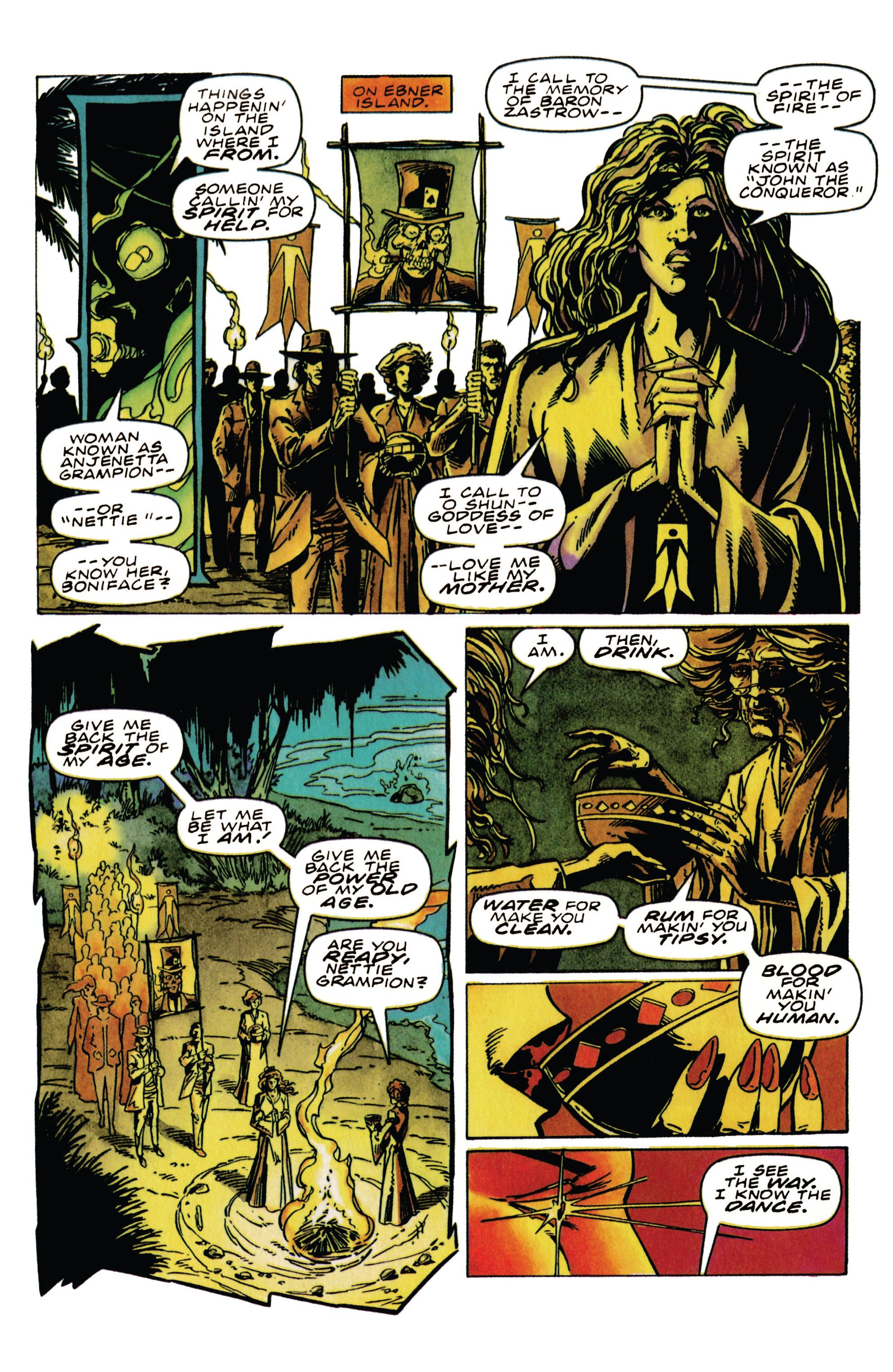 Read online Shadowman (1992) comic -  Issue #33 - 15