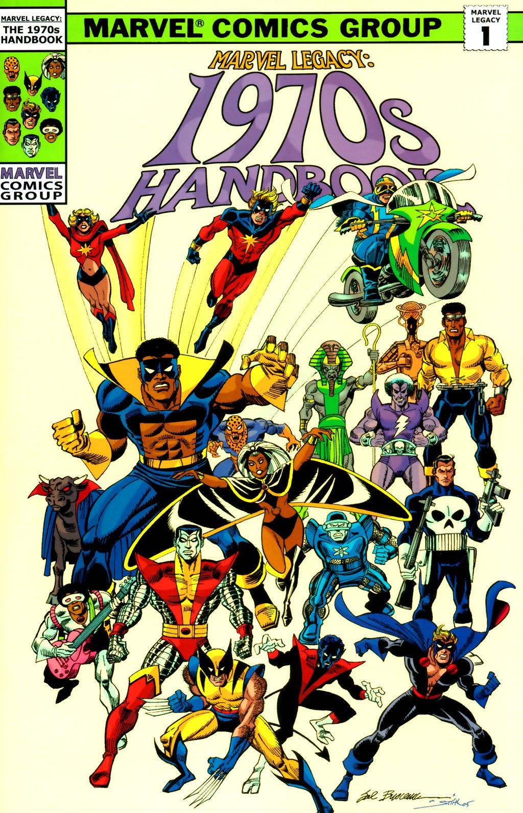 Read online Marvel Legacy: The 1970's Handbook comic -  Issue # Full - 1