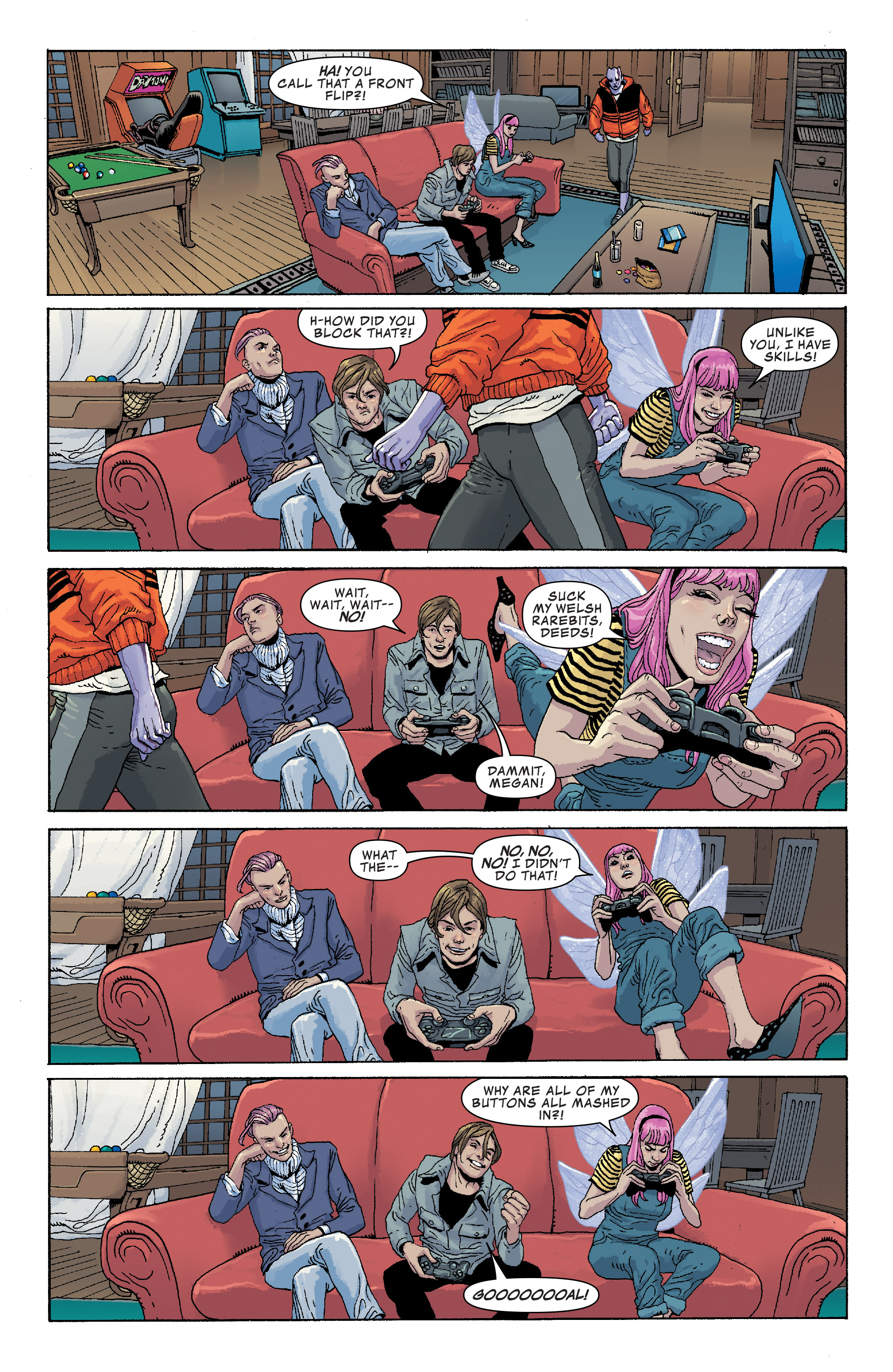Read online Generation X (2017) comic -  Issue #3 - 9