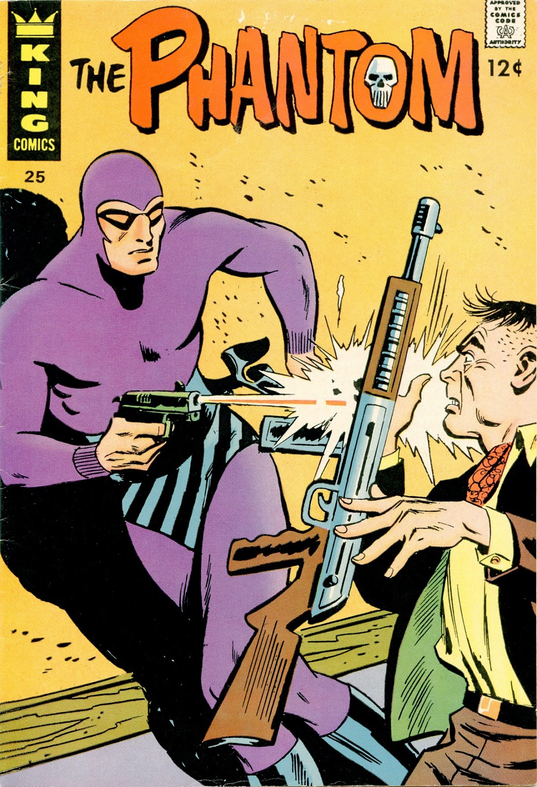 The Phantom (1966) issue 25 - Page 1