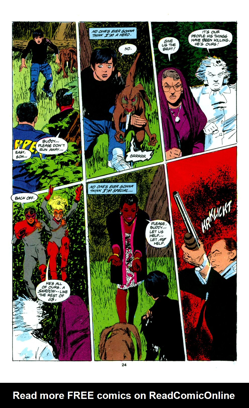Read online Powerline comic -  Issue #6 - 26