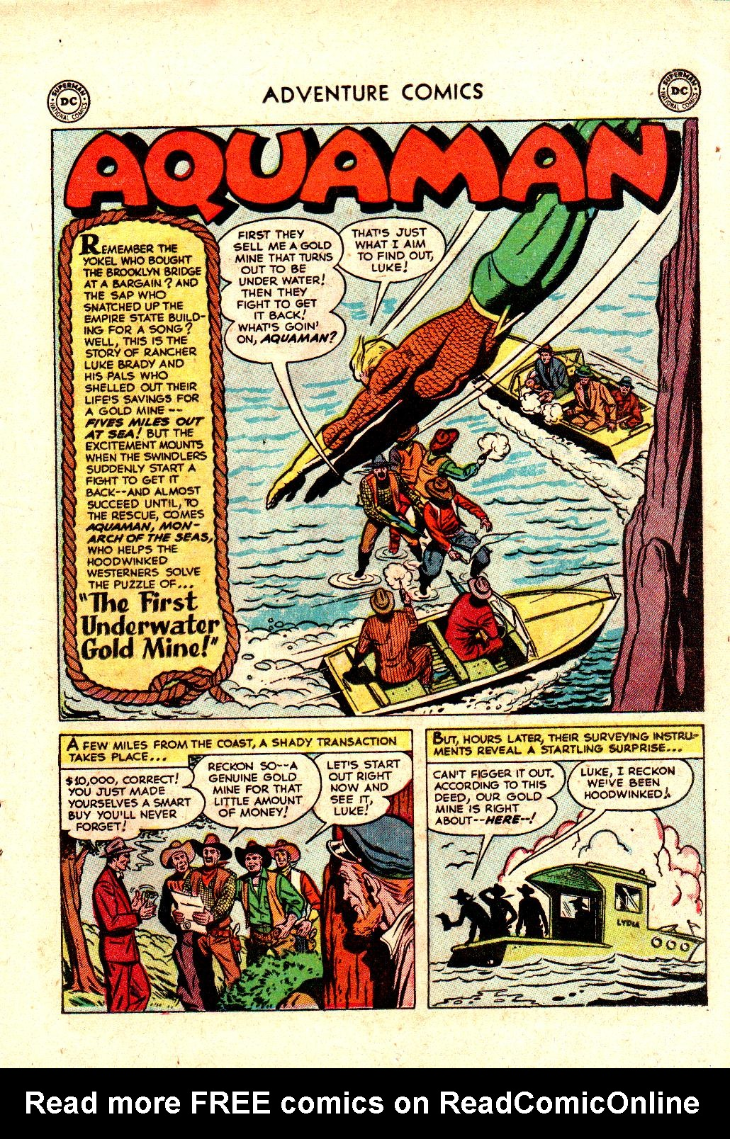 Read online Adventure Comics (1938) comic -  Issue #173 - 17