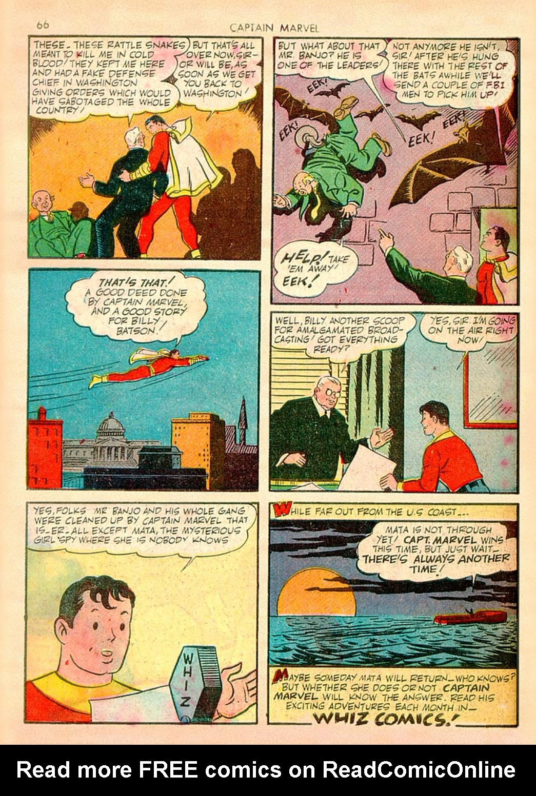 Captain Marvel Adventures issue 10 - Page 66