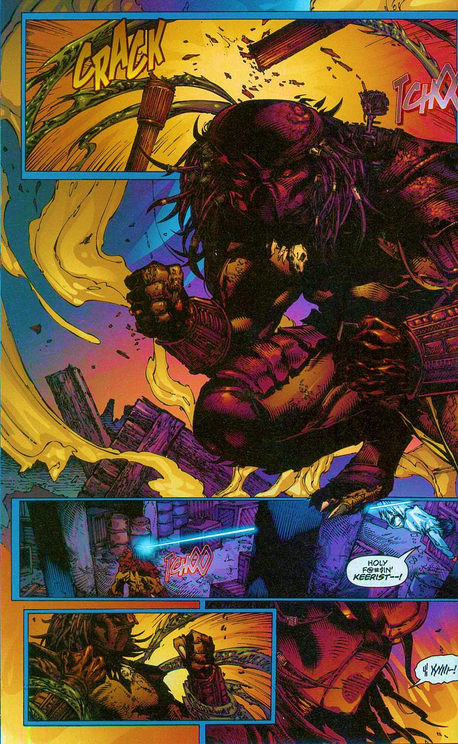 Read online Overkill: Witchblade/Aliens/Darkness/Predator comic -  Issue #2 - 11