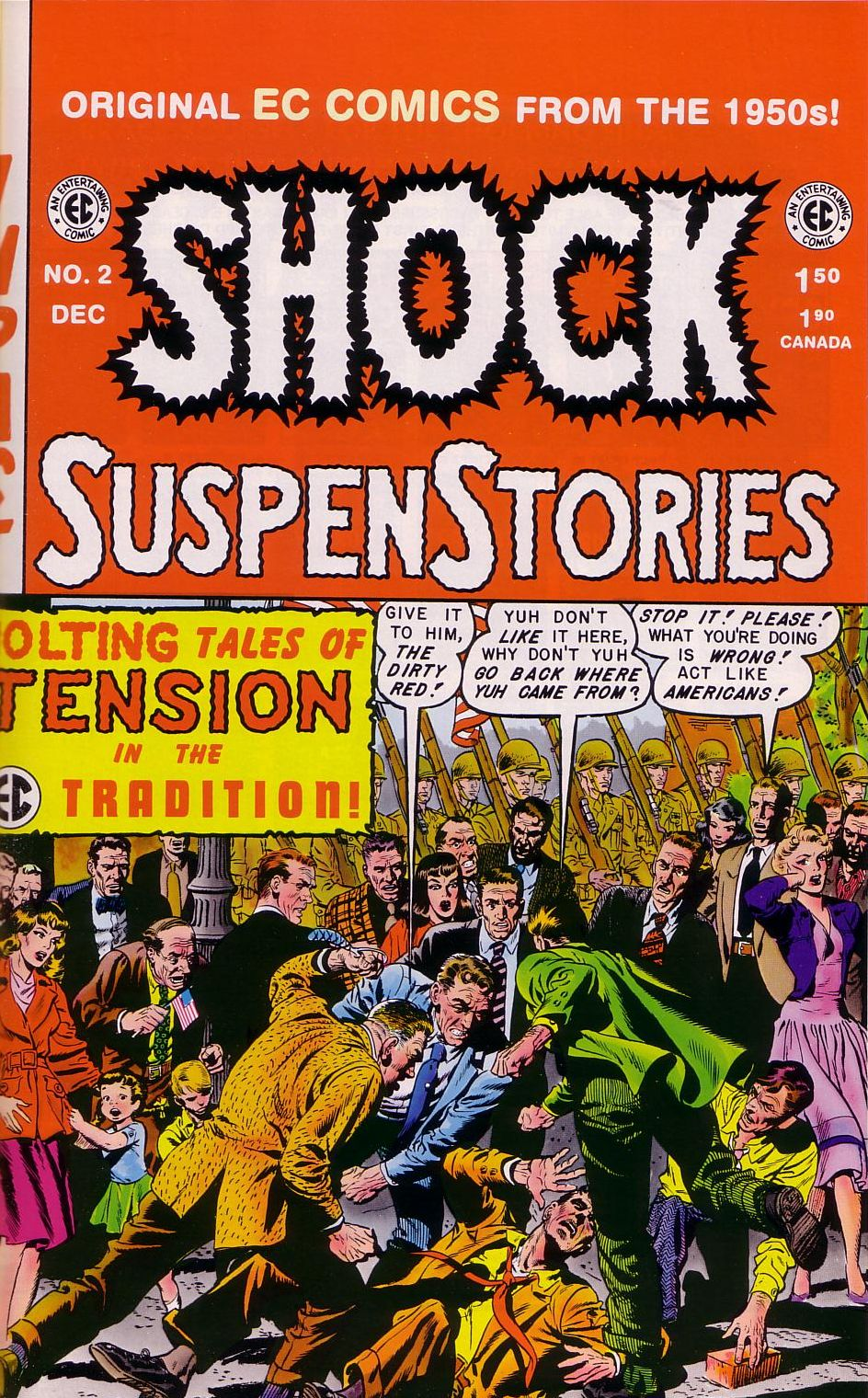 Shock SuspenStories issue 2 - Page 1