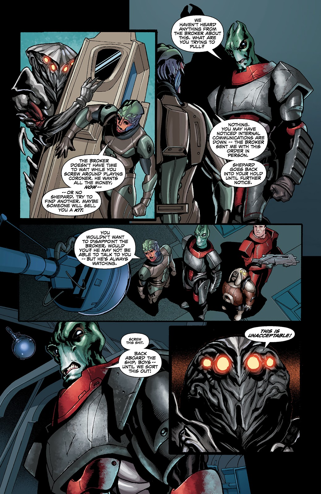 Mass Effect: Redemption Issue #4 #4 - English 14