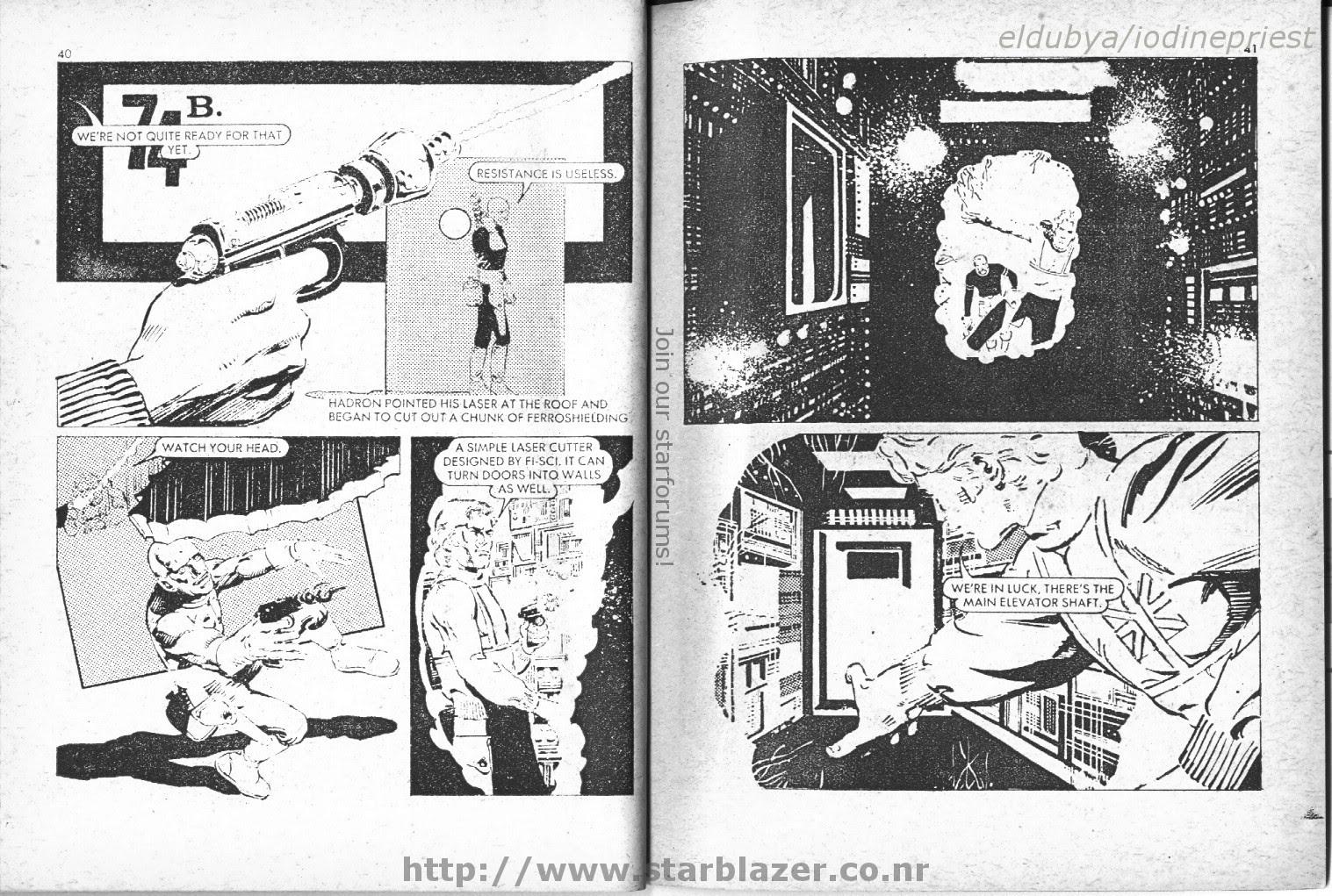 Starblazer issue 50 - Page 22