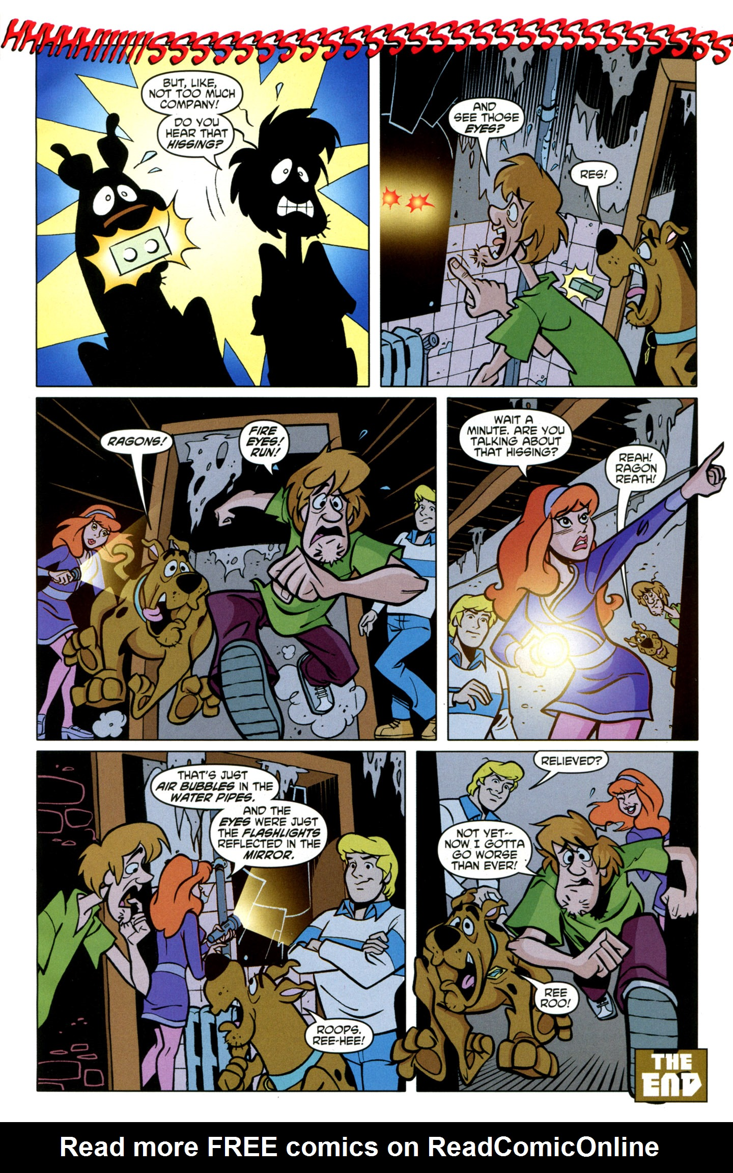 Read online Scooby-Doo: Where Are You? comic -  Issue #21 - 29