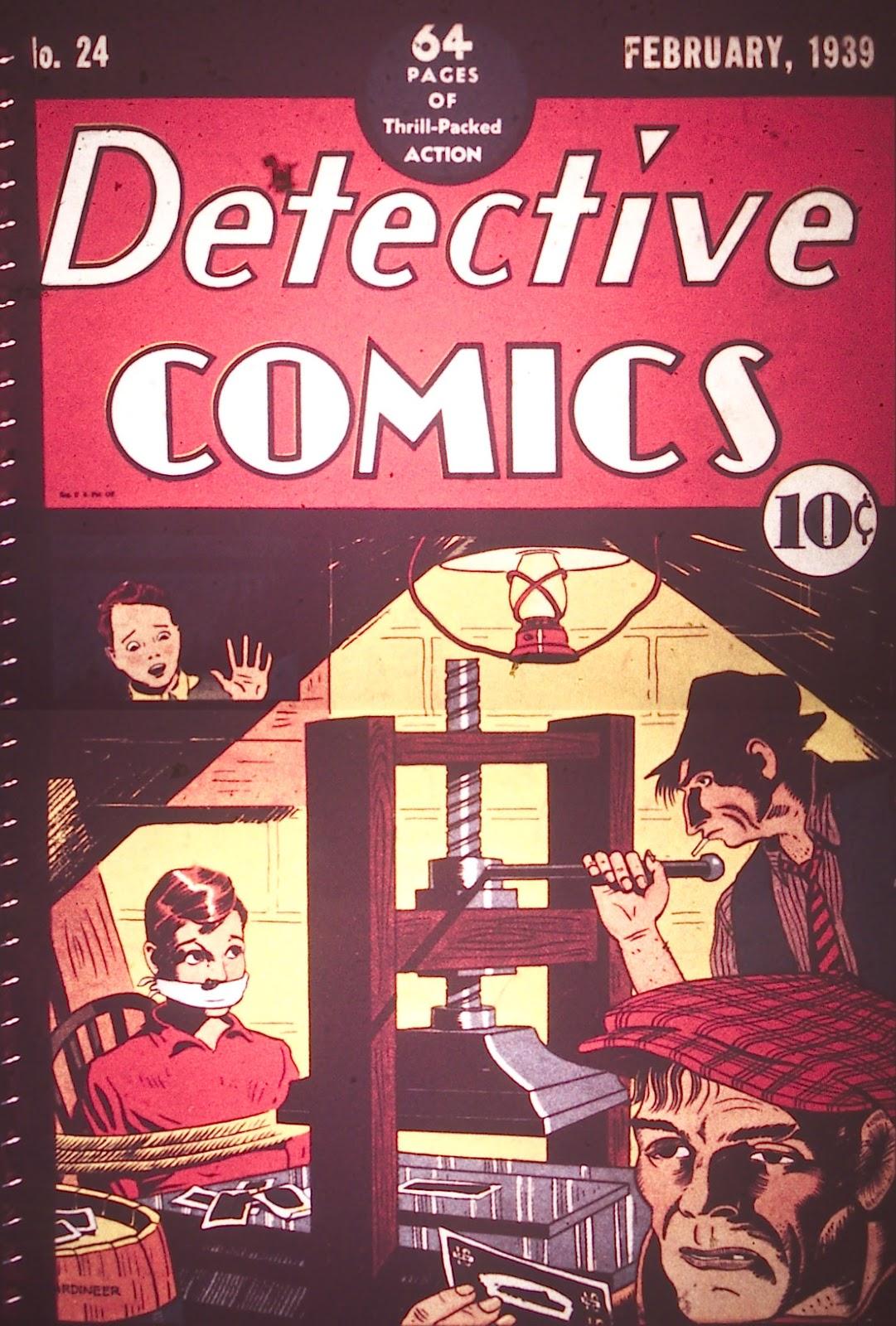 Detective Comics (1937) 24 Page 1