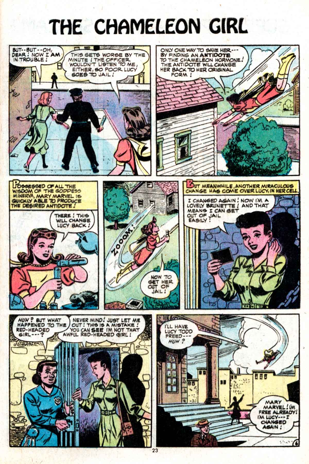 Read online Shazam! (1973) comic -  Issue #15 - 23