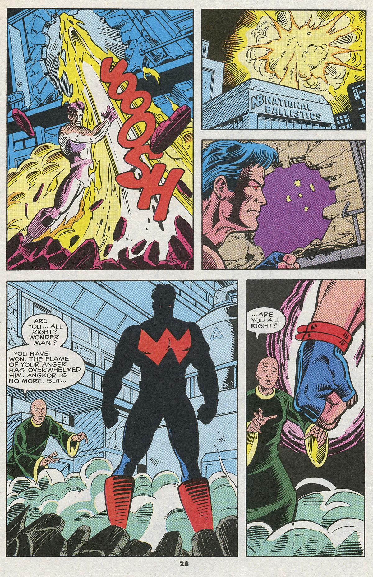 Read online Wonder Man (1991) comic -  Issue #12 - 22