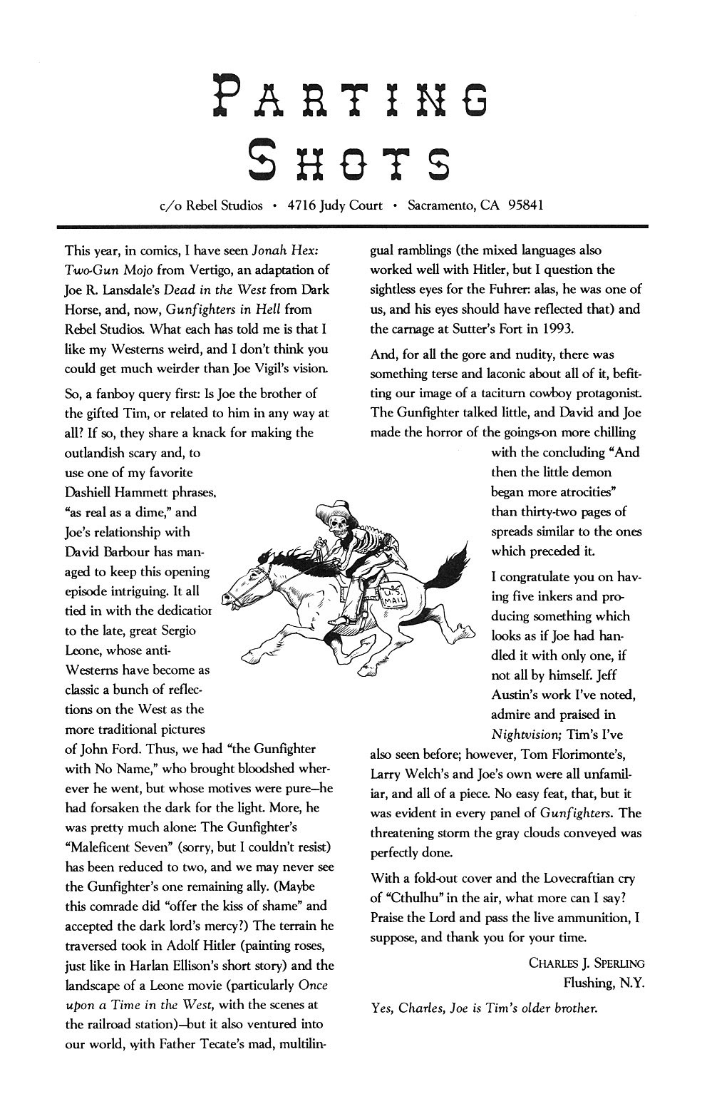 Read online Gunfighters in Hell comic -  Issue #2 - 28
