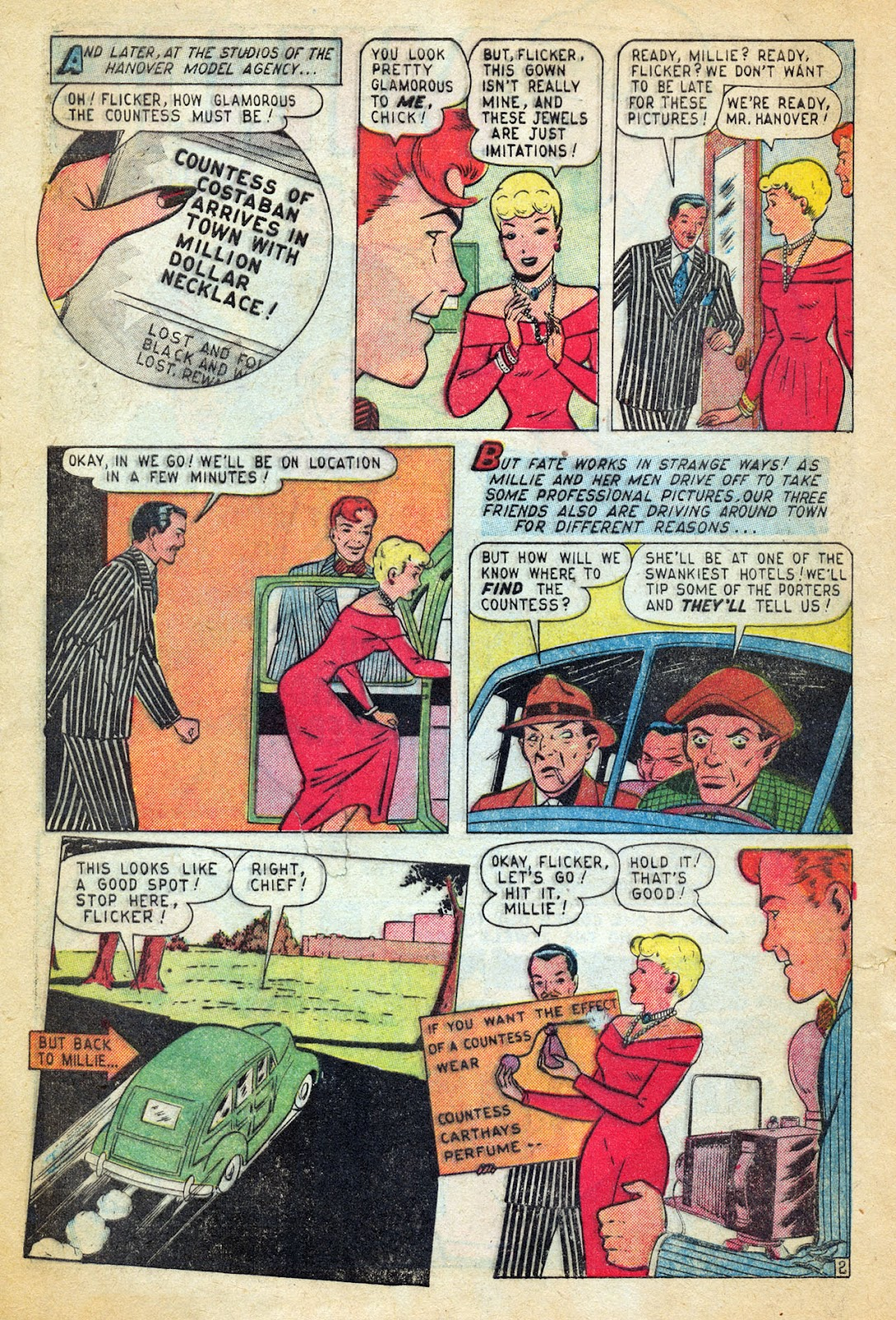 Read online Millie the Model comic -  Issue #14 - 4