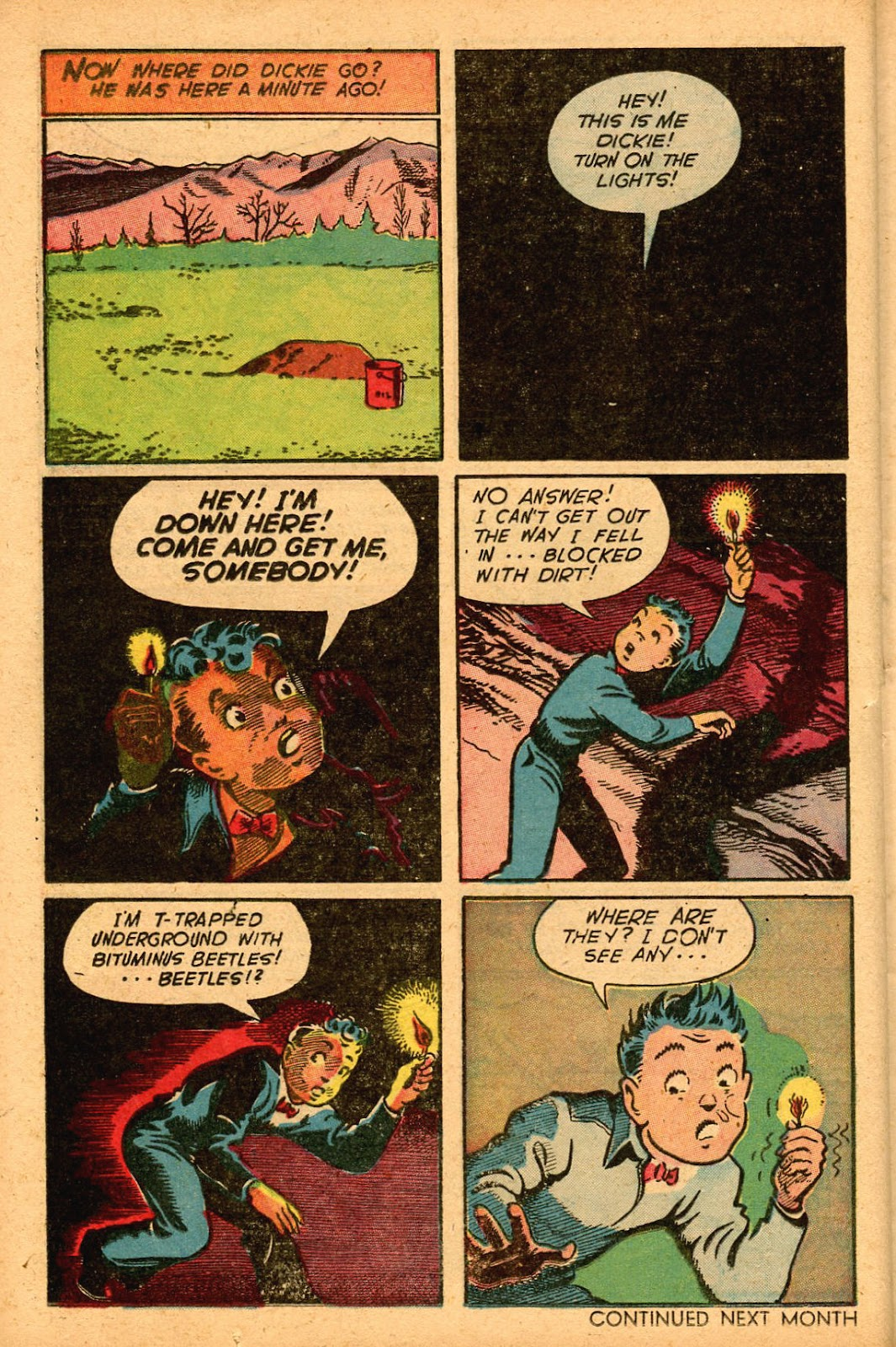 Read online Famous Funnies comic -  Issue #155 - 34