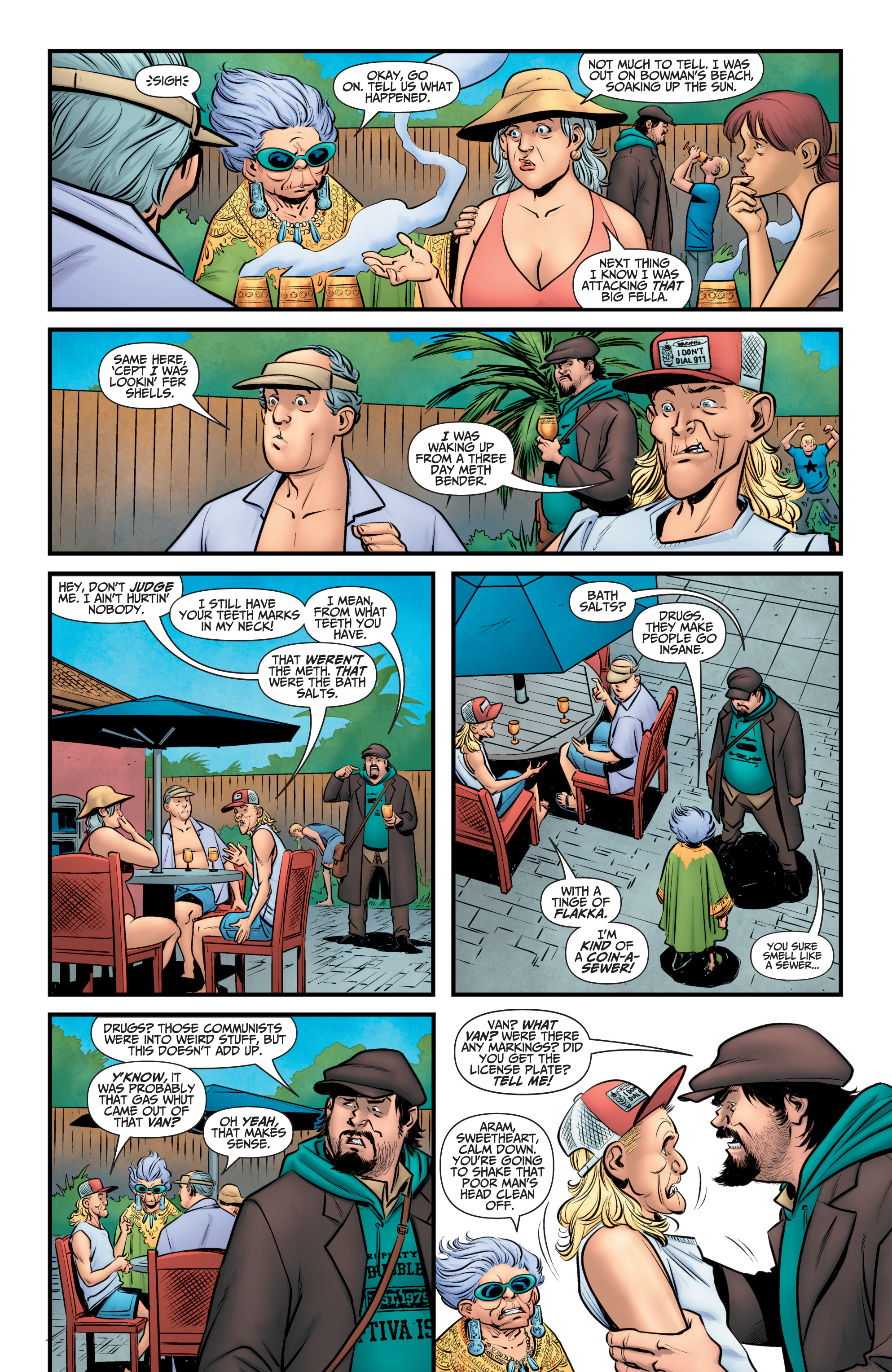 Read online A&A: The Adventures of Archer & Armstrong comic -  Issue #11 - 6