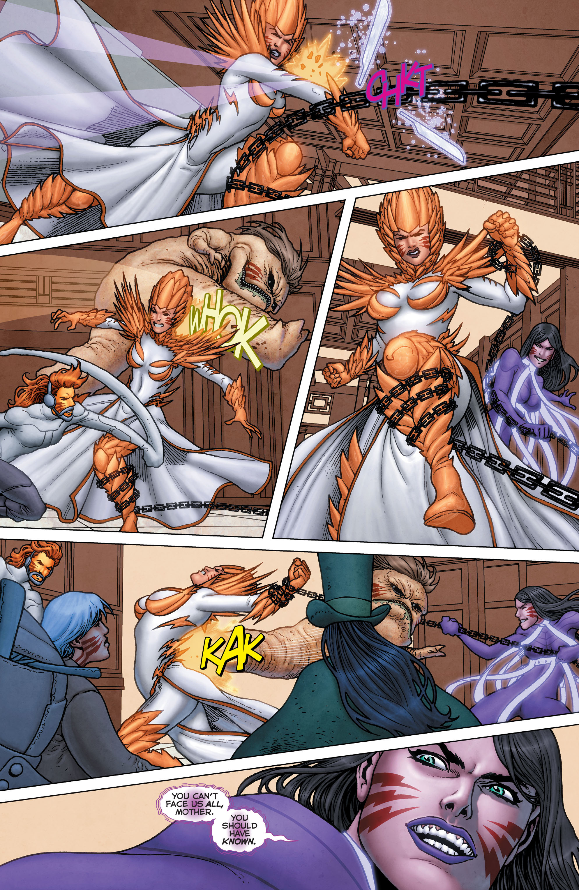 Read online Trinity of Sin: Pandora: Futures End comic -  Issue # Full - 12