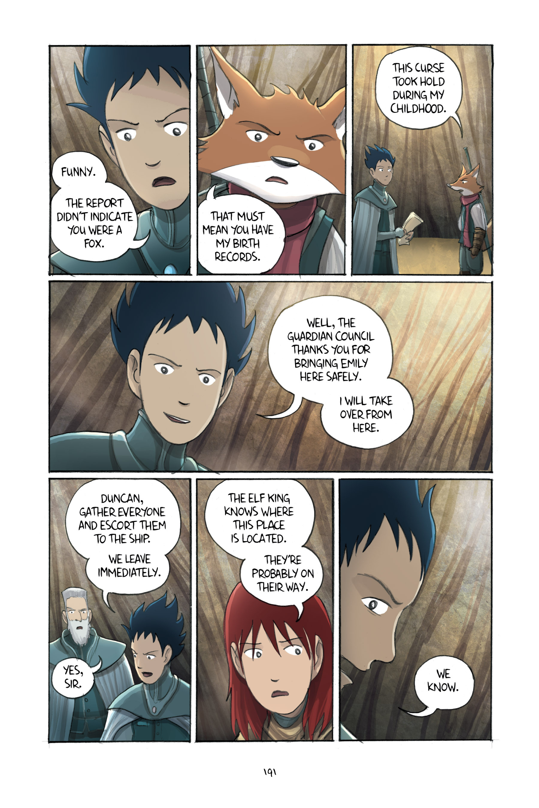 Read online Amulet comic -  Issue #3 - 187