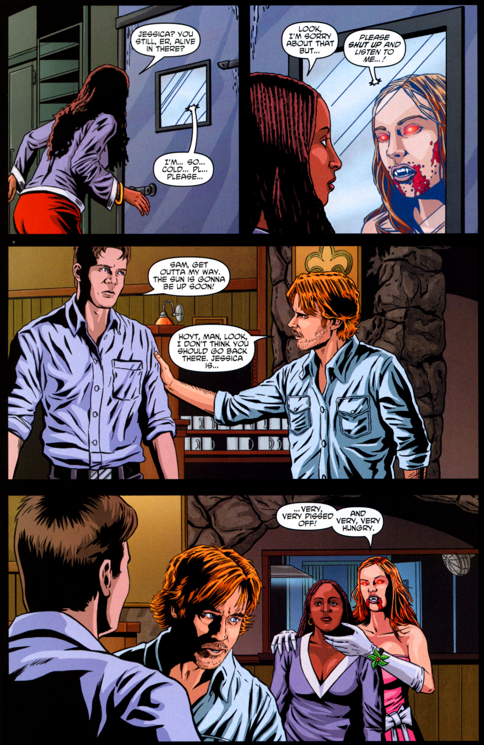 Read online True Blood: Tainted Love comic -  Issue #6 - 16