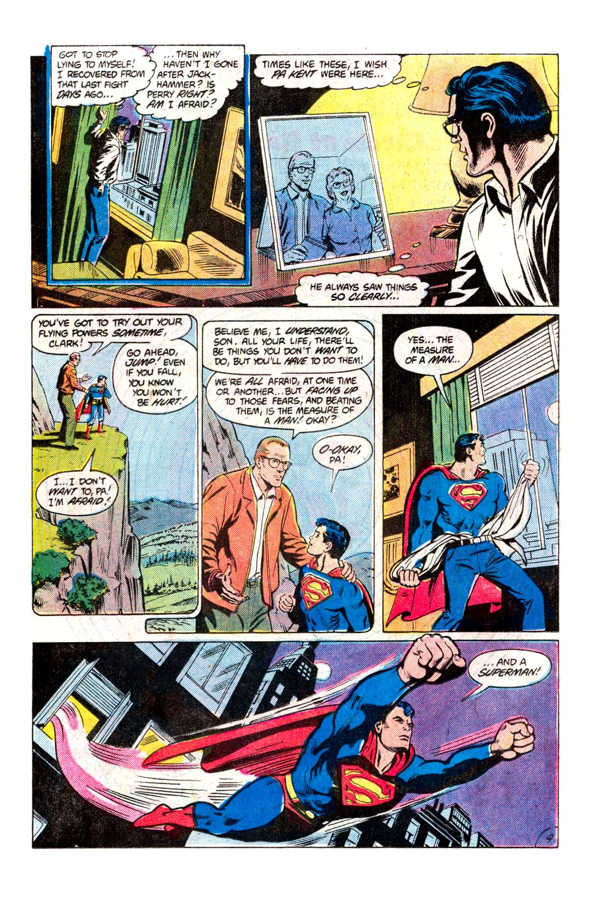 Read online Action Comics (1938) comic -  Issue #538 - 10