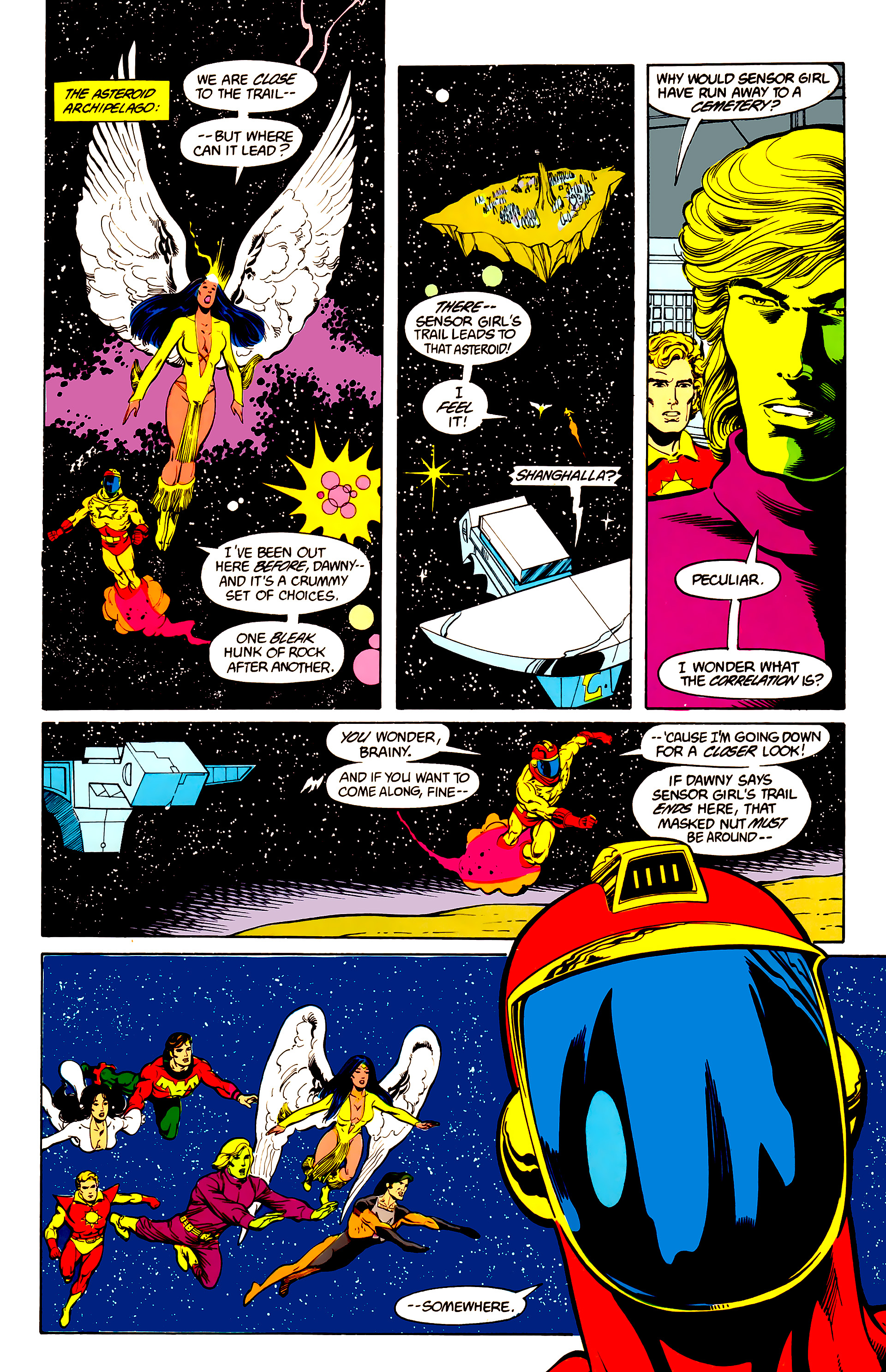Legion of Super-Heroes (1984) 25 Page 11