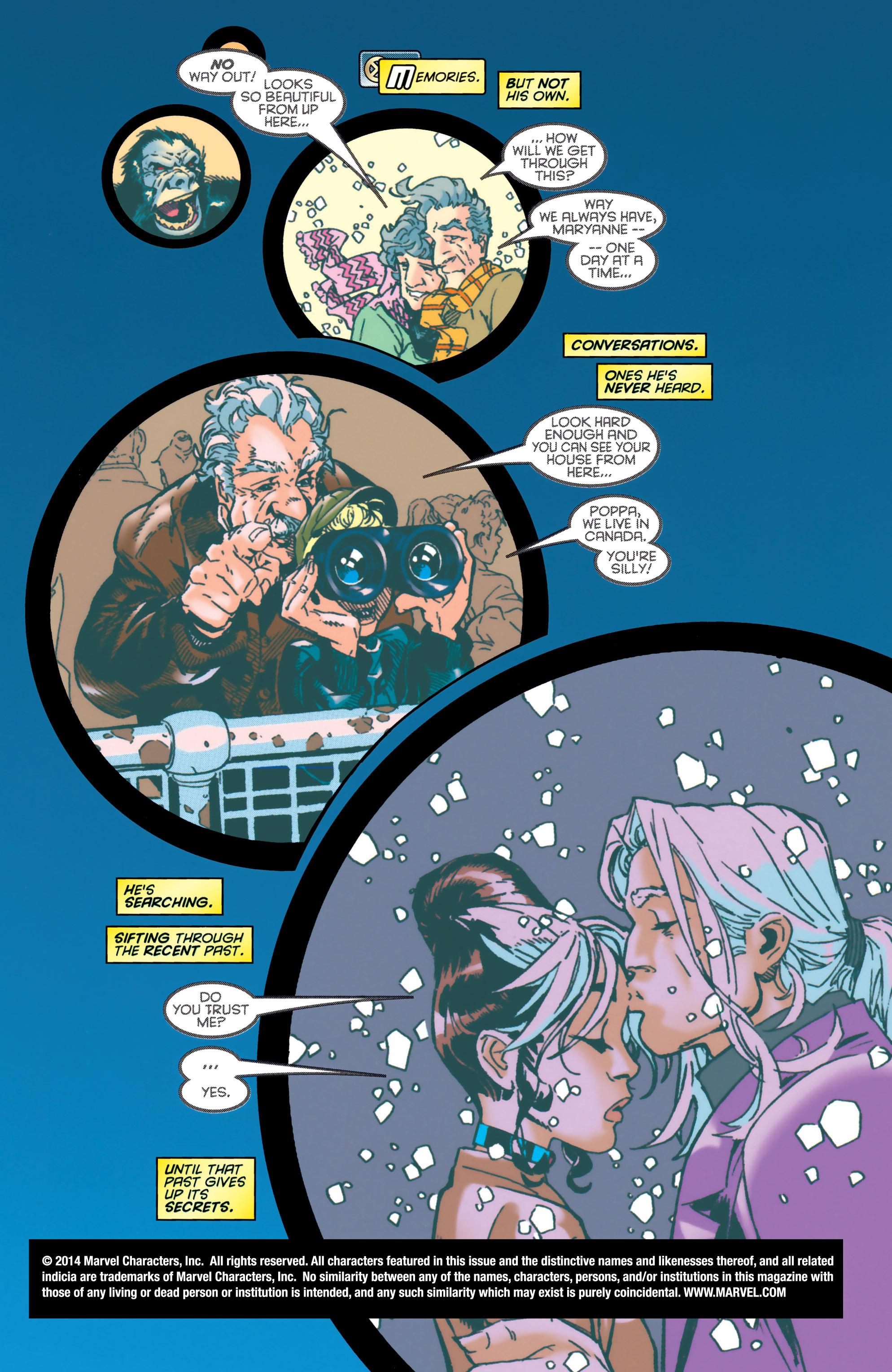 Read online Uncanny X-Men (1963) comic -  Issue #349 - 2
