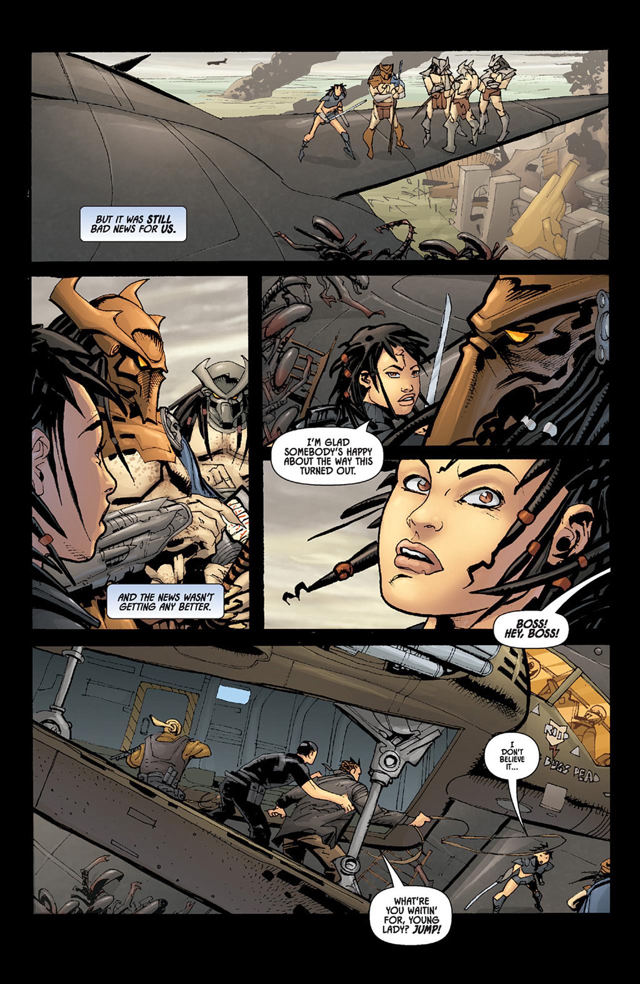 Read online Aliens vs. Predator: Three World War comic -  Issue #6 - 20