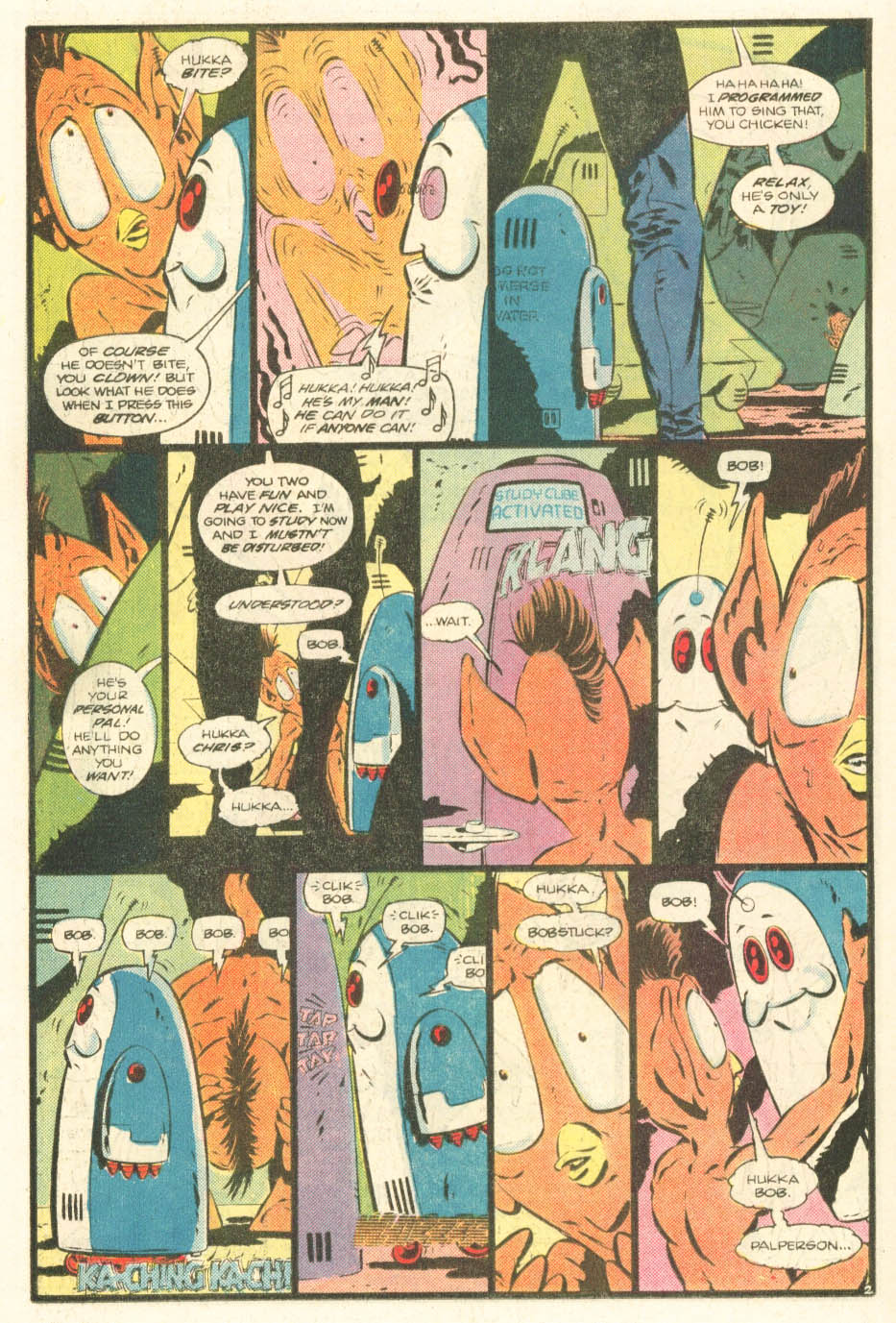 Read online Atari Force (1984) comic -  Issue #20 - 21