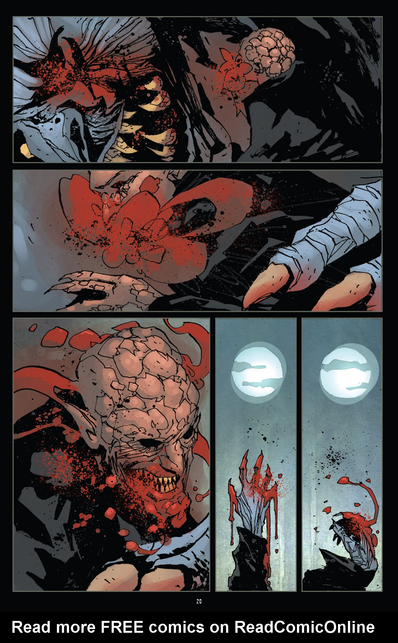 Read online 30 Days of Night (2011) comic -  Issue #12 - 21