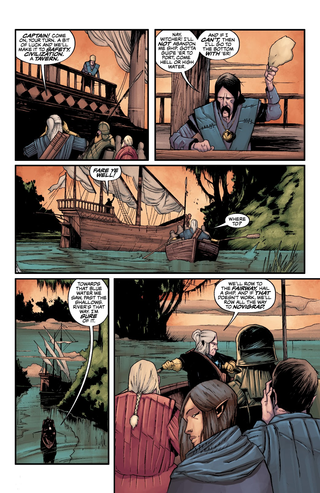 Read online The Witcher Omnibus comic -  Issue # TPB (Part 3) - 38