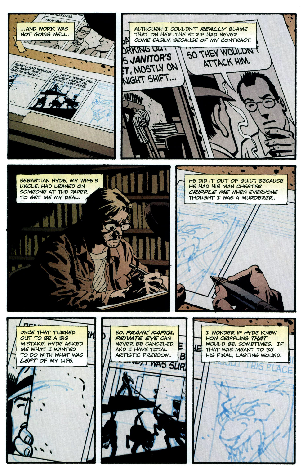 Read online Criminal (2008) comic -  Issue #5 - 11
