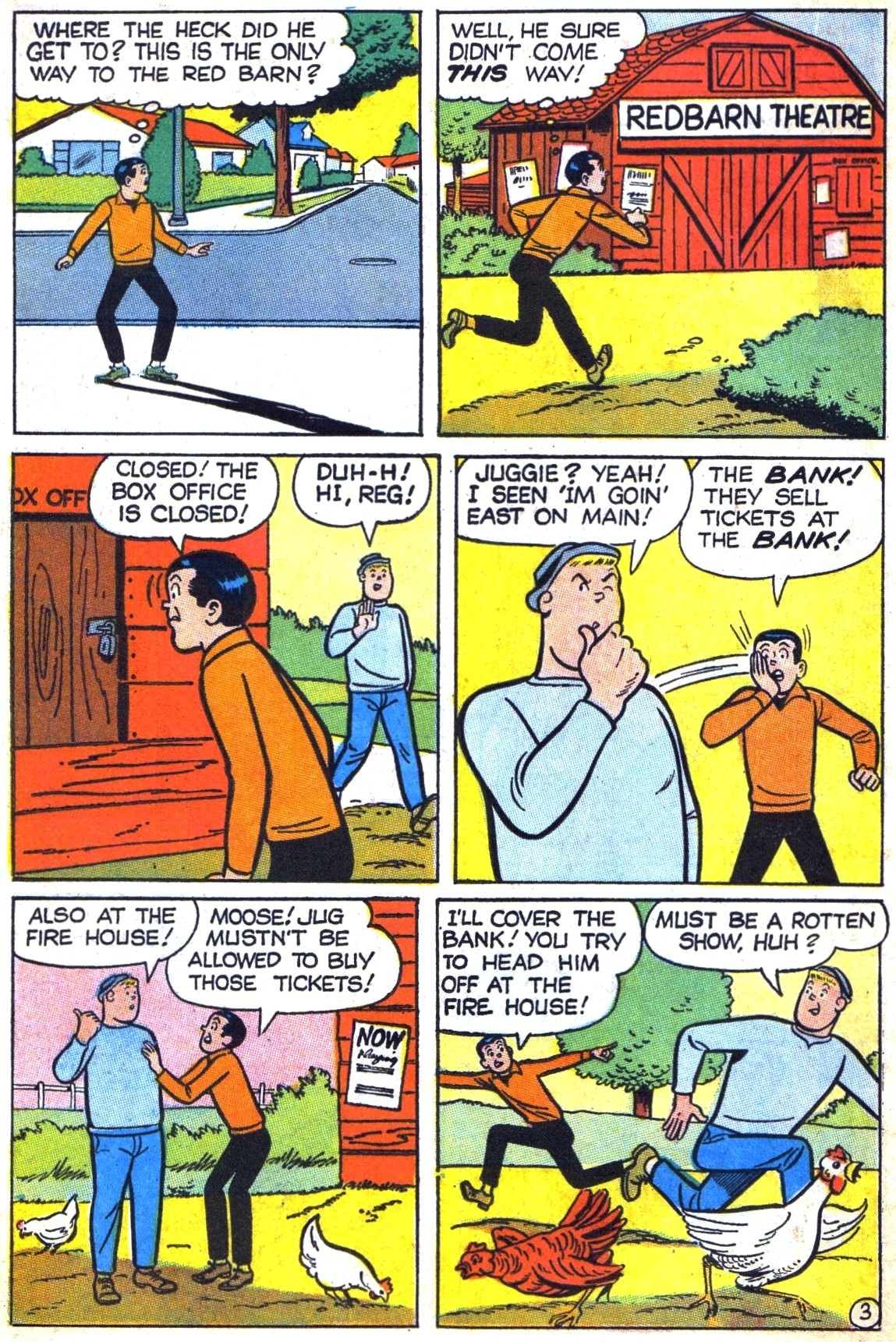 Read online Archie (1960) comic -  Issue #184 - 22