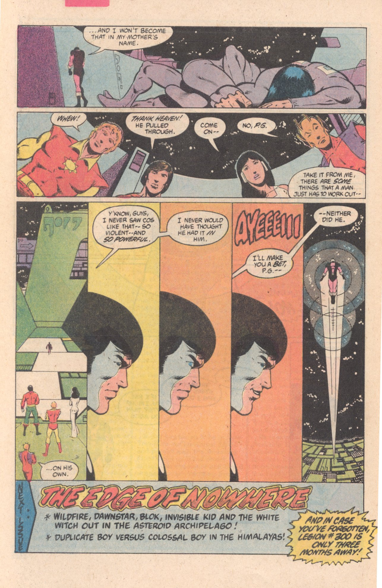 Legion of Super-Heroes (1980) 297 Page 23