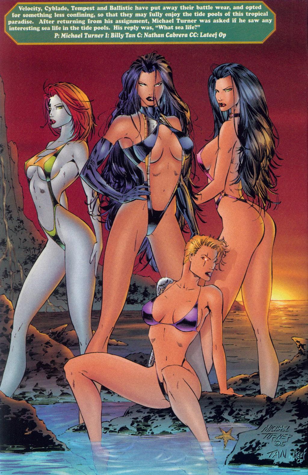 Read online Ballistic Studios Swimsuit Special comic -  Issue #1 - 3