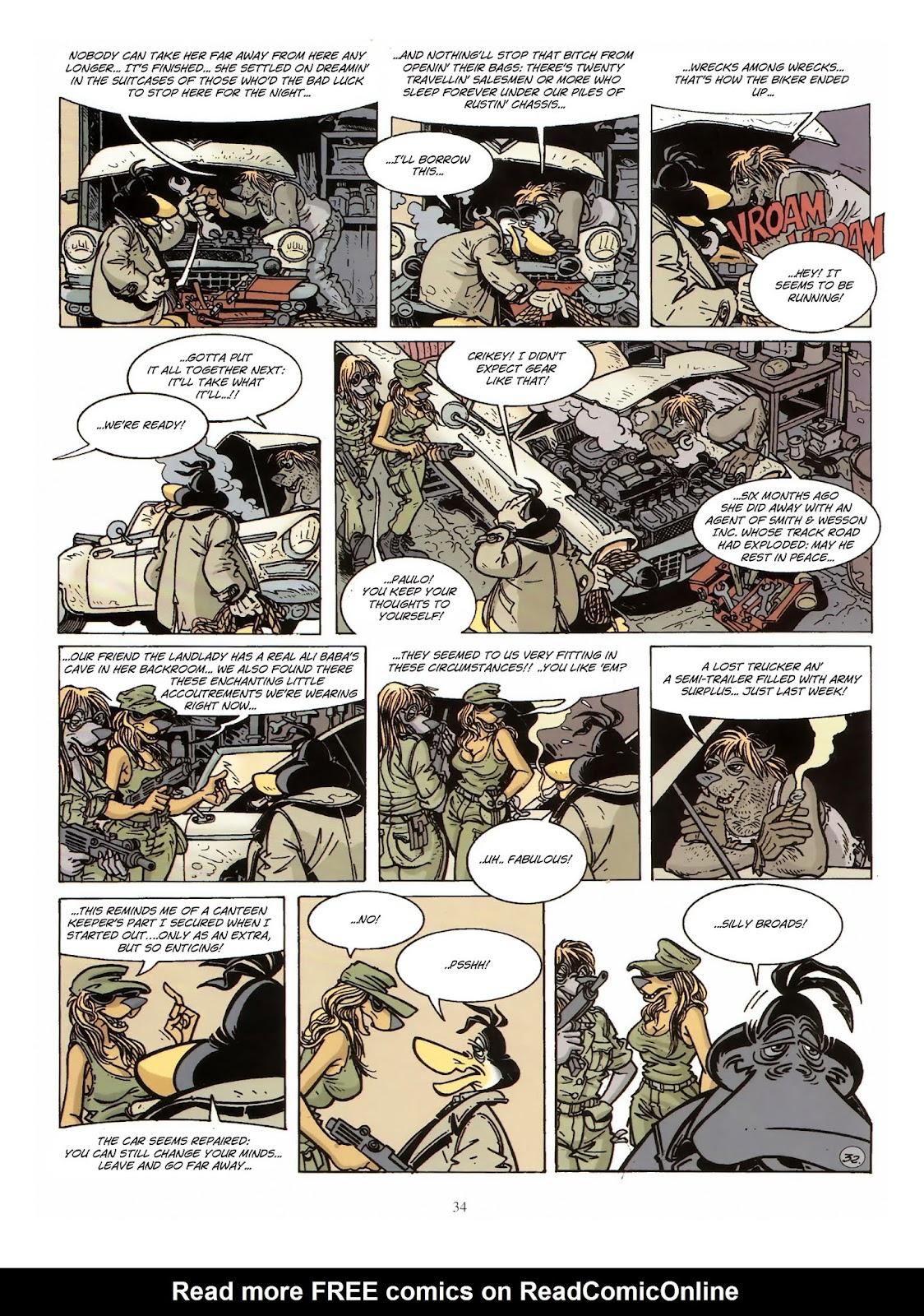 Une enquête de l'inspecteur Canardo issue 10 - Page 35