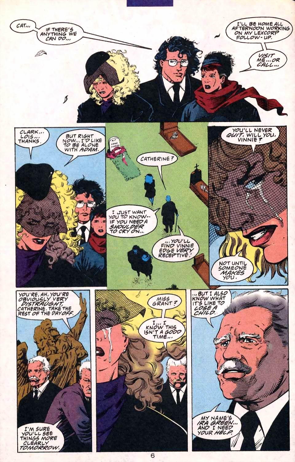 Read online Adventures of Superman (1987) comic -  Issue #508 - 8