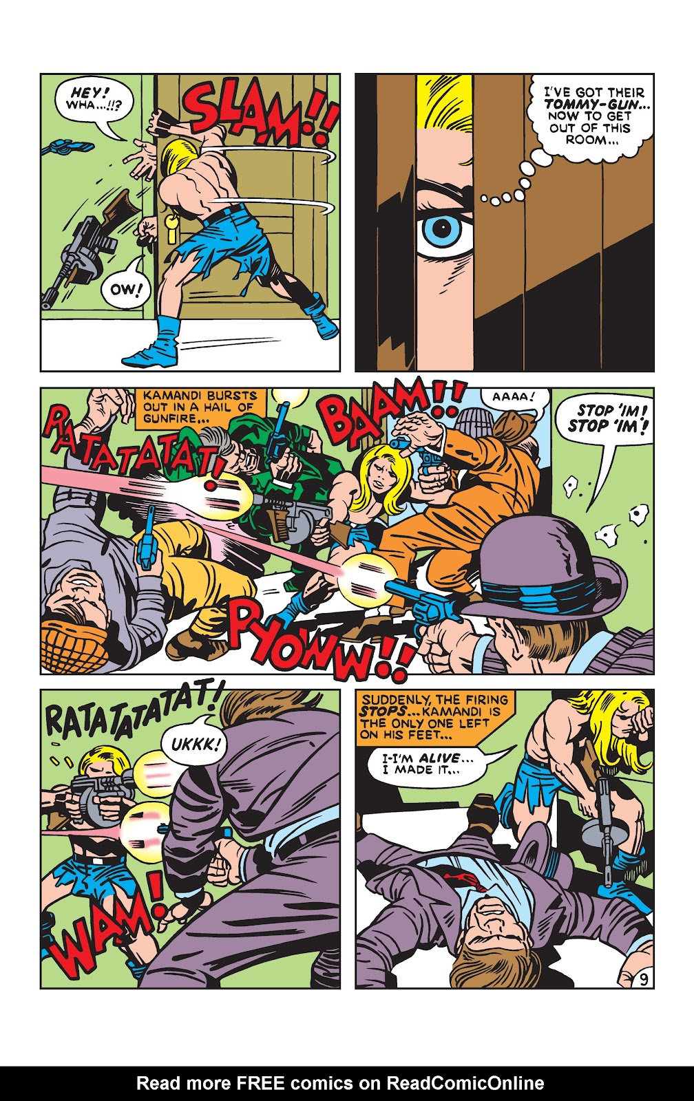 Kamandi, The Last Boy On Earth issue 19 - Page 9